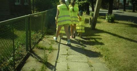 Pasitinkame vasarą, žygiuojant  pėsčiomis