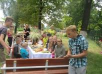 """Liepos 6-ąją ,,Draugystės tiltai su Kėdainių pagalbos šeimai centro vaikais"""""""