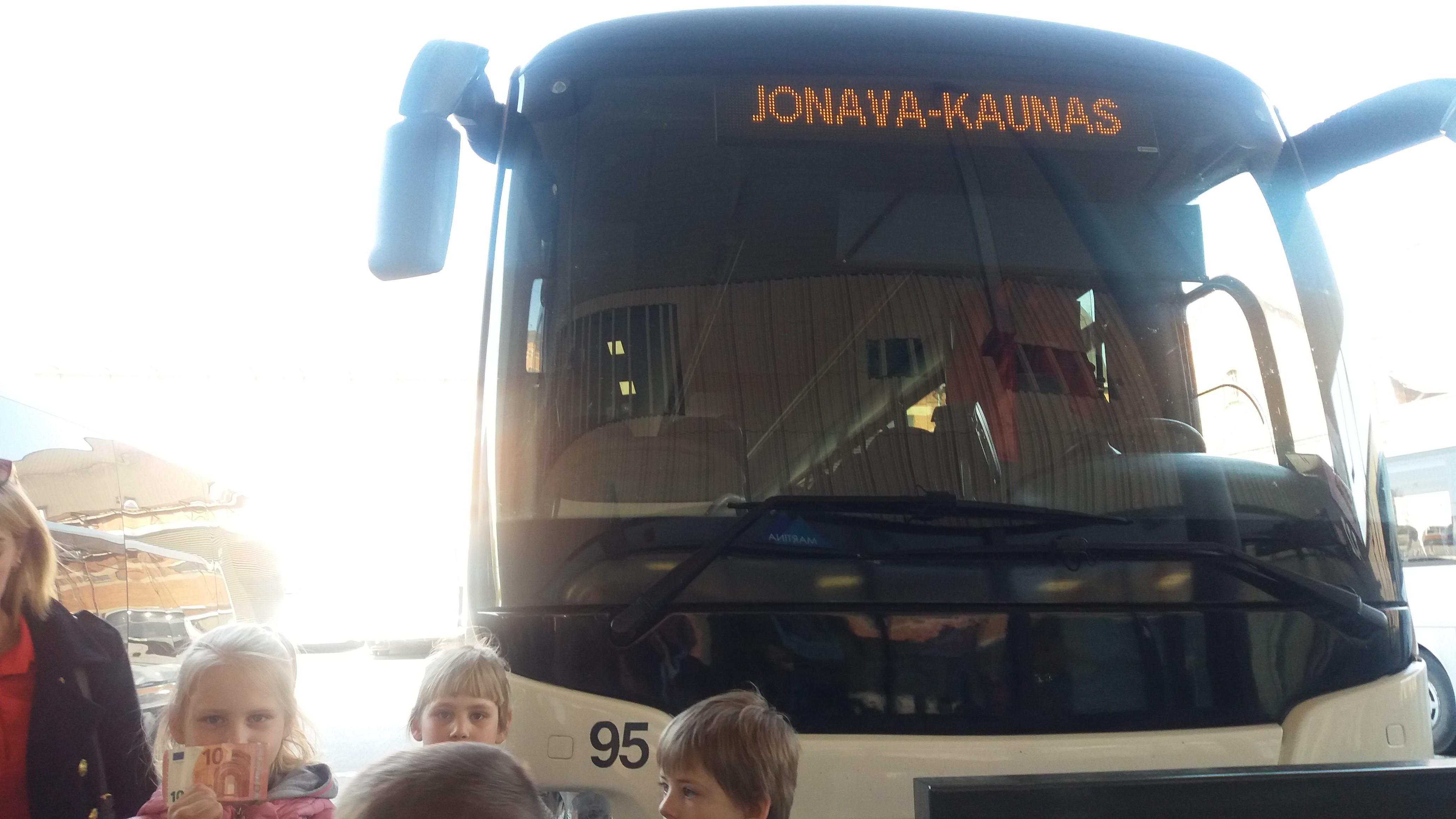 """Vaizdo rezultatas pagal užklausą """"autobusas jonava kaunas foto"""""""
